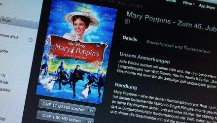 iTS Film der Woche «Walt Disney - Marry Poppins»