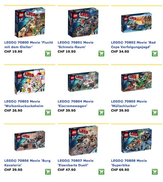 Lego Movie – das Spielzeug