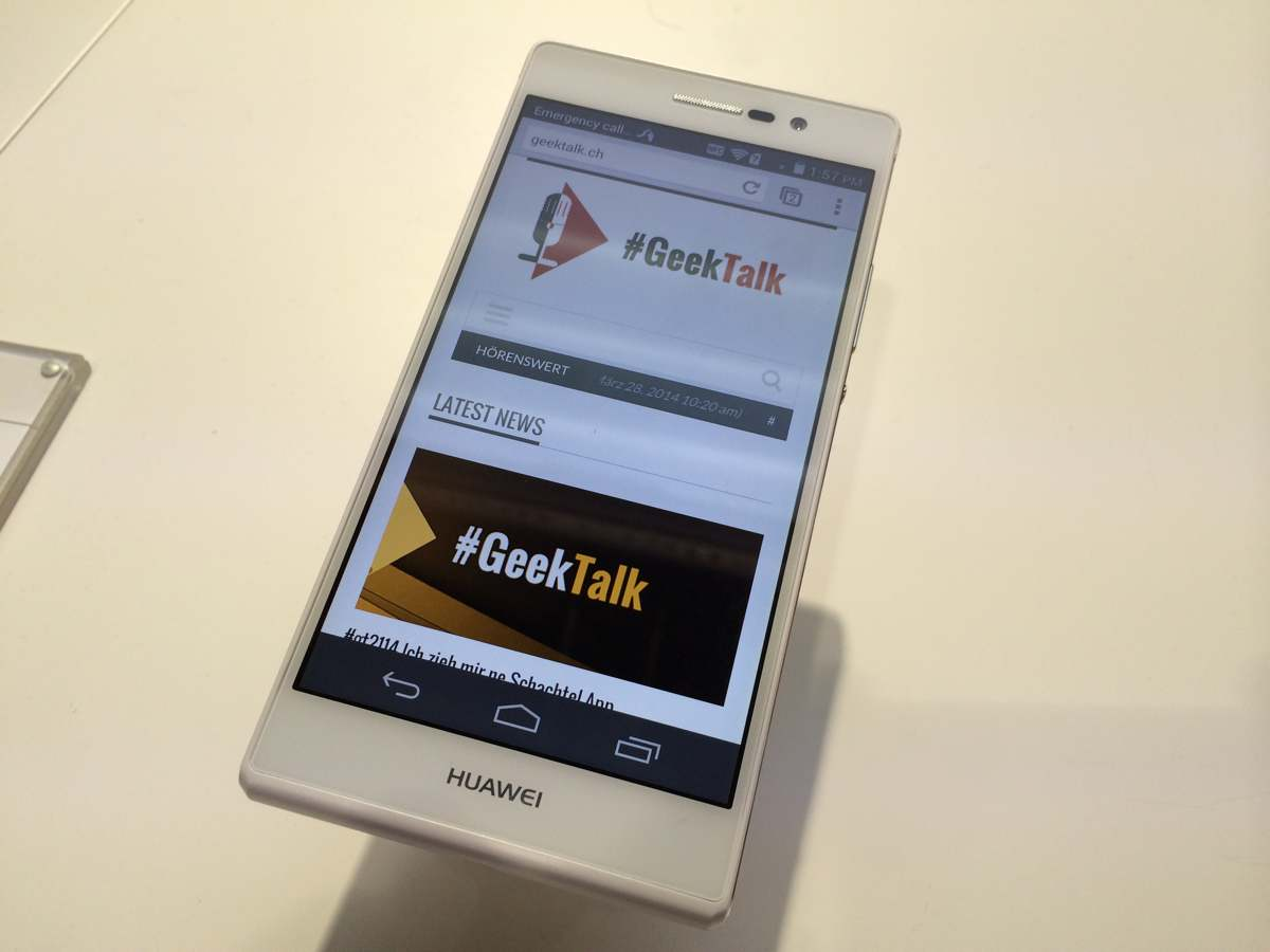 Huawei Ascend P7 - 1