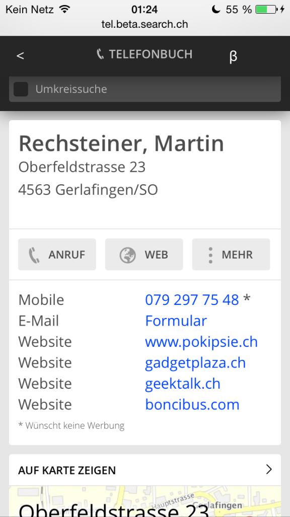 search.ch wird mobil und flach #srch14