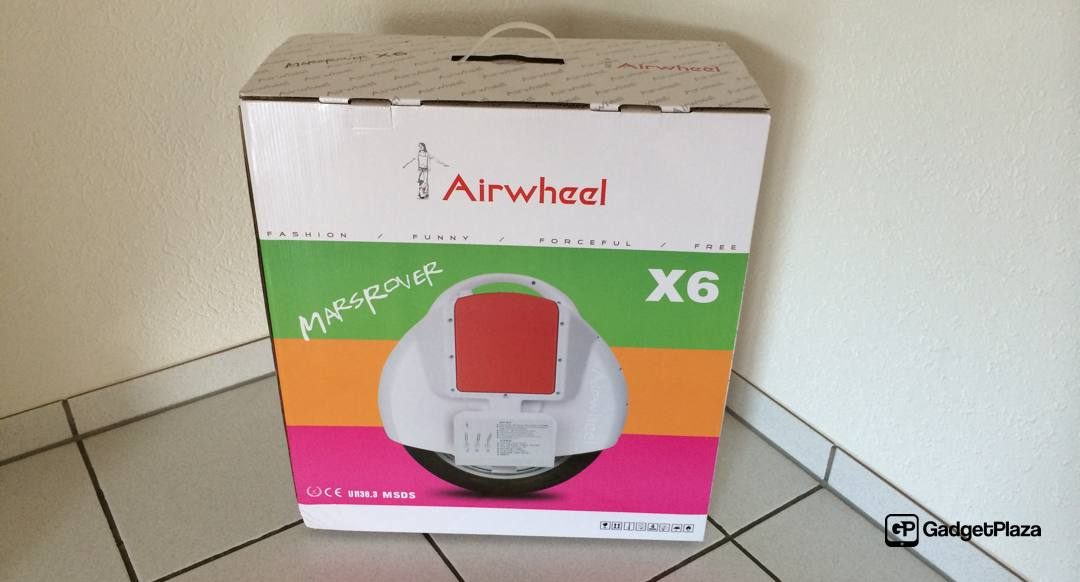 Video – neustes Gadget im Haus «Airwheel X6» & Review Ankündigung