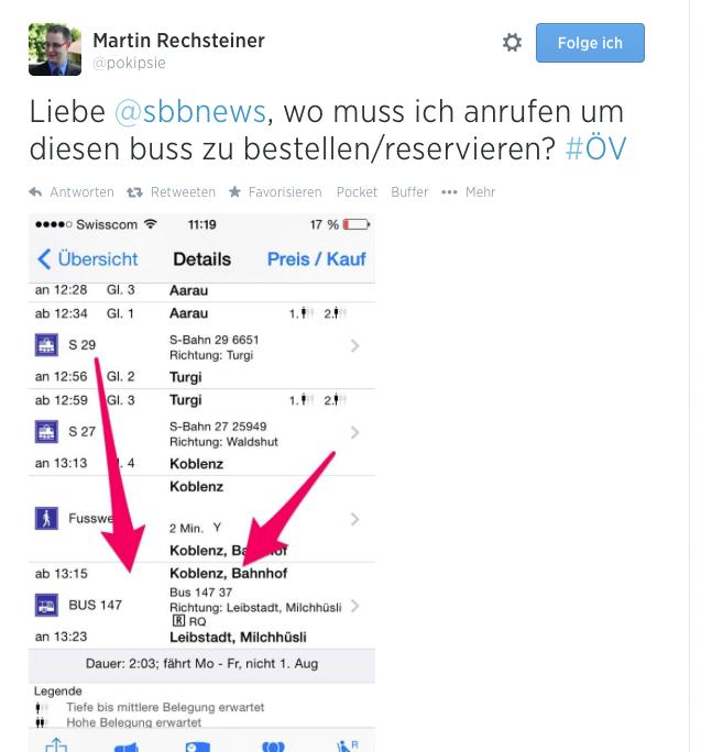 Twitter und warum ich es liebe – Social Media, SBB und die Post-Autos Dienste