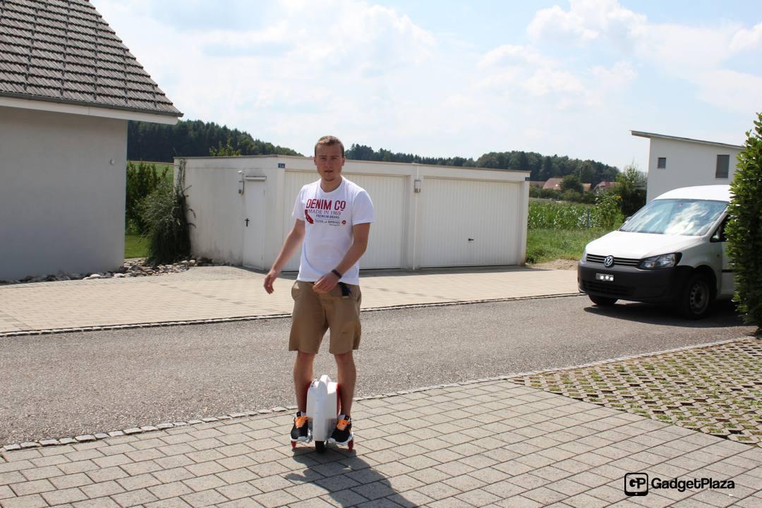 Airwheel X6 – motorisiertes Einrad mit Suchtpotential