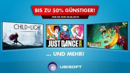 Nintendo Wii U - Ubisoft Spiele Aktion