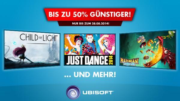 Nintendo Wii U – Ubisoft Spiele Aktion