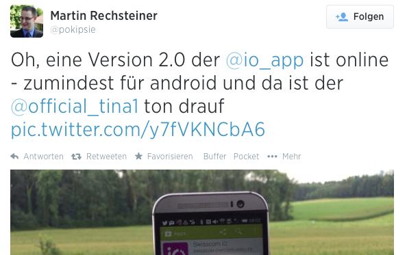 iO Update für Android