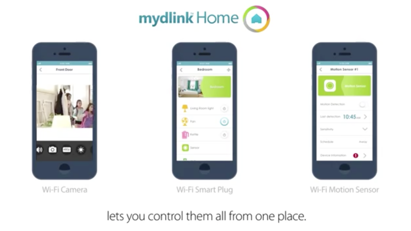 Video «The D-Link Connected Home»