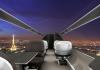 Video - Flugzeug-Konzept ohne Fenster