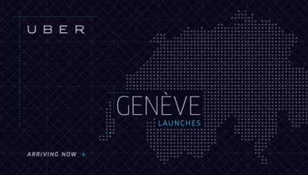 Uber gibt es nun neu auch in Genf