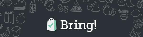 iOS «Bring» Update – gemeinsame Einkaufslisten für alle