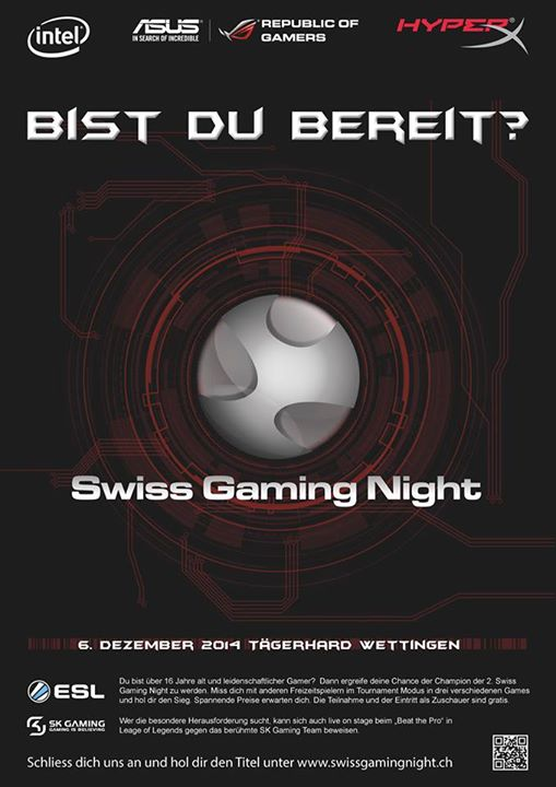 06.12.2014 – Swiss Gaming Night
