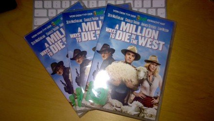 DVD «A Million Ways to Die in the West» 3 mal zu gewinen