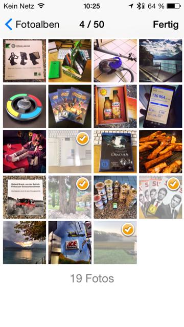 iOS «Clixxie-Flexiphotos» Fotos aufkleben ohne Rückstände