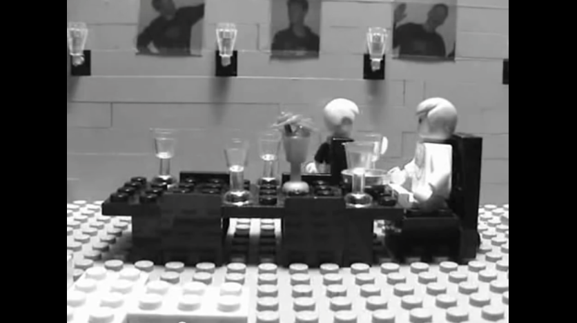Video «Dinner for One» in einer LEGO Version