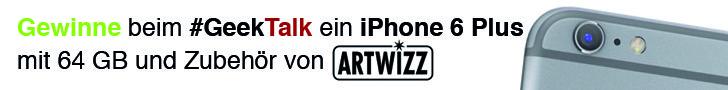 #GeekTalk Podcast und Artwitz iPhone 6 Plus 64 GB Gewinnspiel Smal