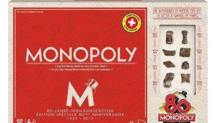 Monopoly wird 80 Jahre alt - Jubiläumsedition - 1935 - 2015