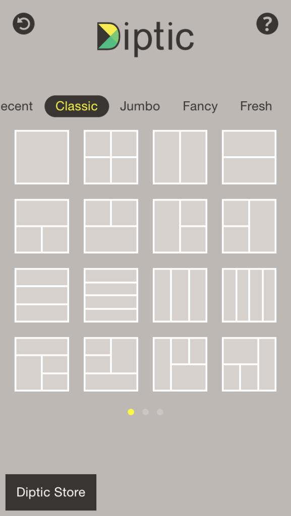Android/iOS «Diptic» einfache Rahmen um eure Instagram Bilder
