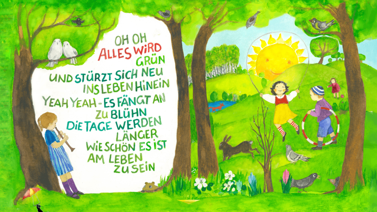 Android/iOS «Alles wird grün» Musik für eure kleinen