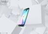 Interaktive Webseite zum Samsung Galaxy S6 EDGE