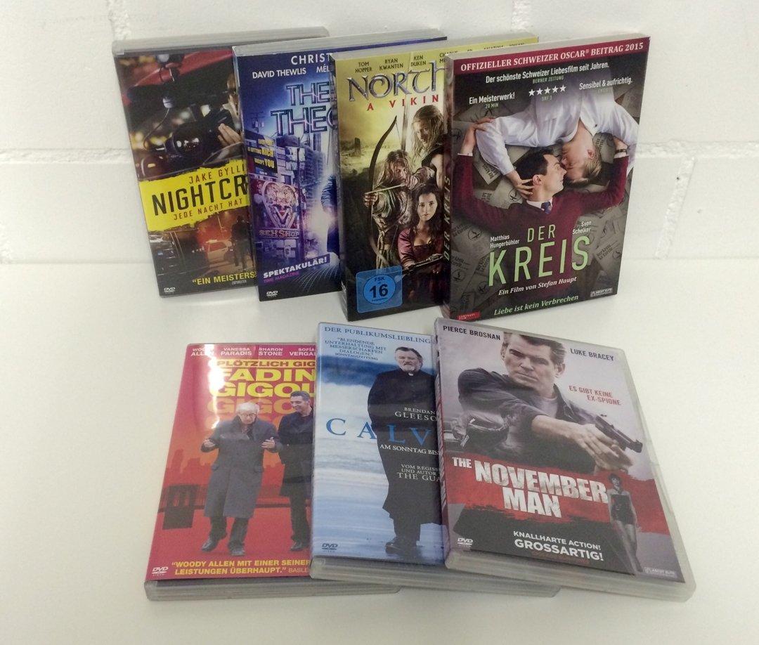 DVD Packet von Ascot Elite – Unterhaltung für die nächsten Abende