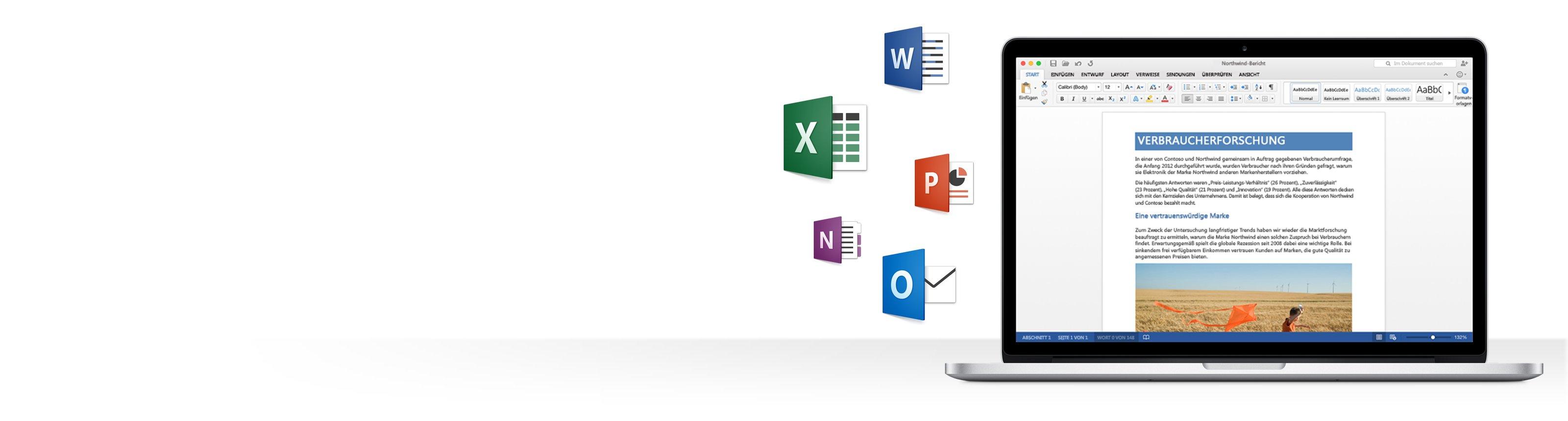 Office für Mac – neue version jetzt schon testen