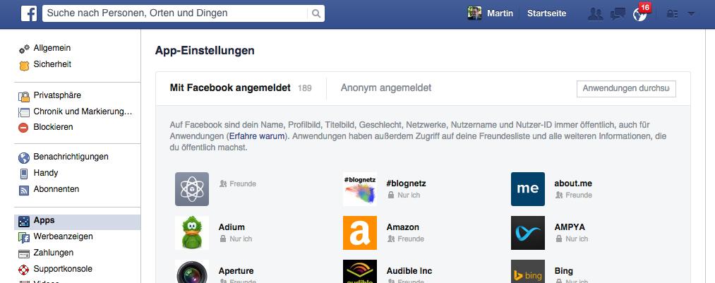 Social Media Hyghiene - Frühlingsputz in den Netzwerken - Facebook