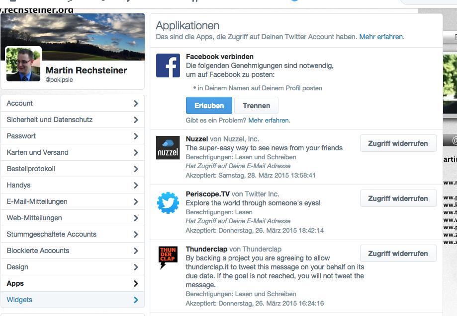 Social Media Hyghiene - Frühlingsputz in den Netzwerken - Twitter