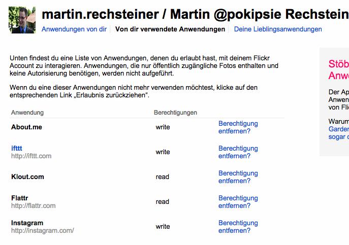 Social Media Hyghiene - Frühlingsputz in den Netzwerken - Flickr