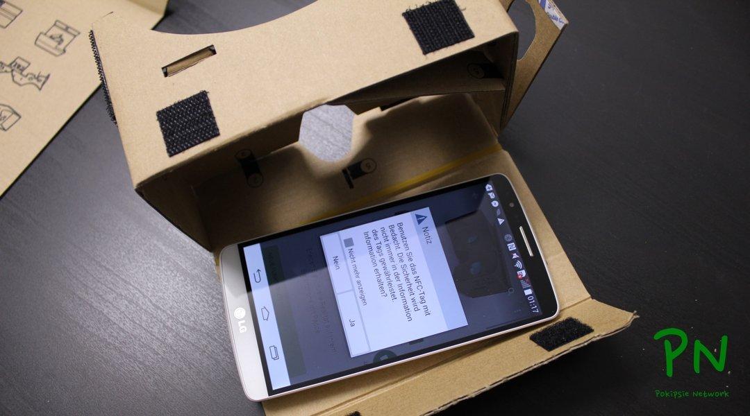 VR Cardboard - Virtuelle Realität durch die Pappe