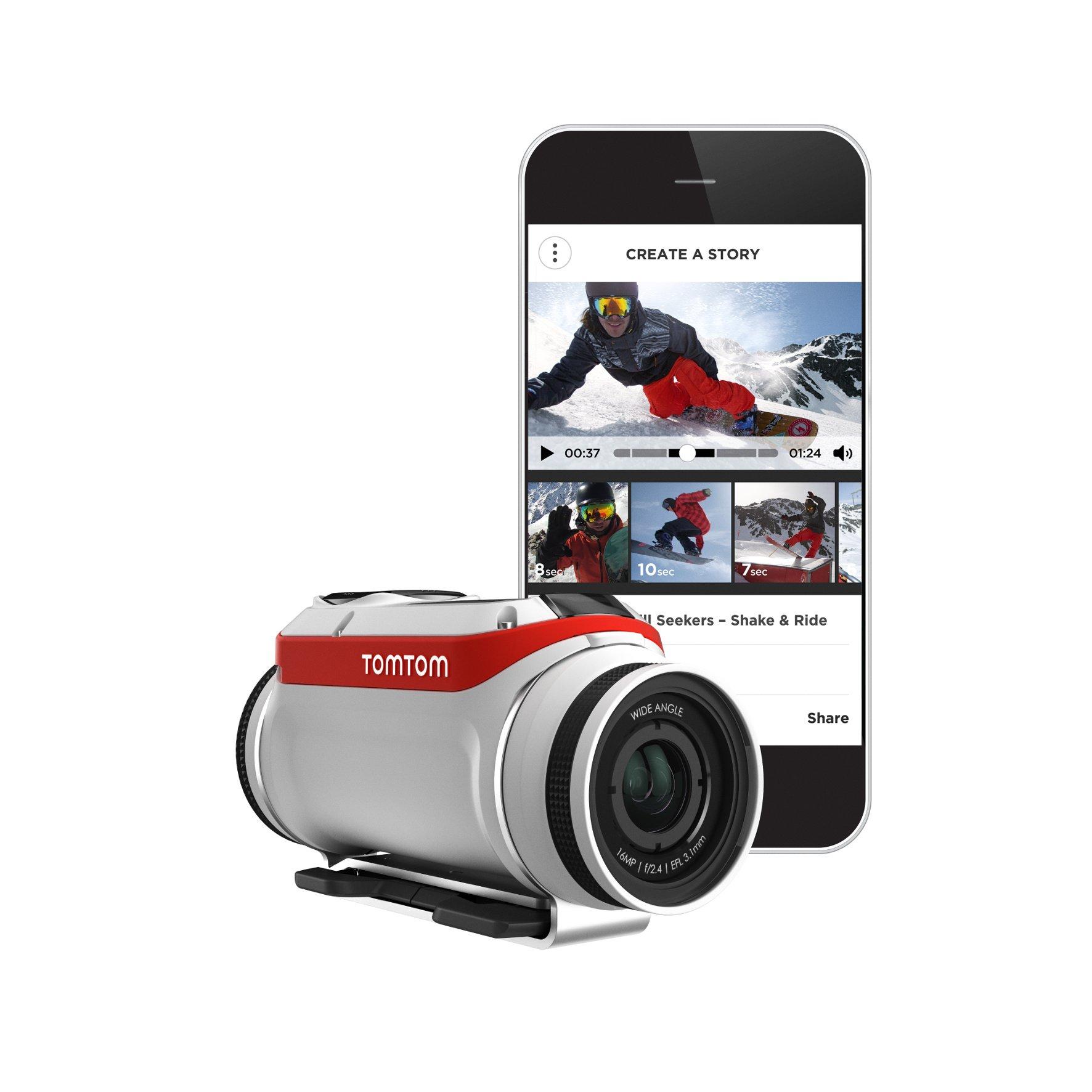 TomTom präsentiert die Action Kamera Bandit und neue Kartenfunktionen MyDrive