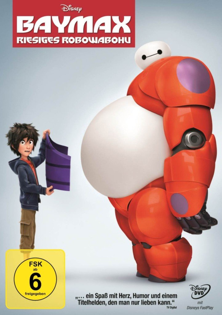 DVD:Blu-Ray Disneys «BAYMAX - riesiges Robowabohu»