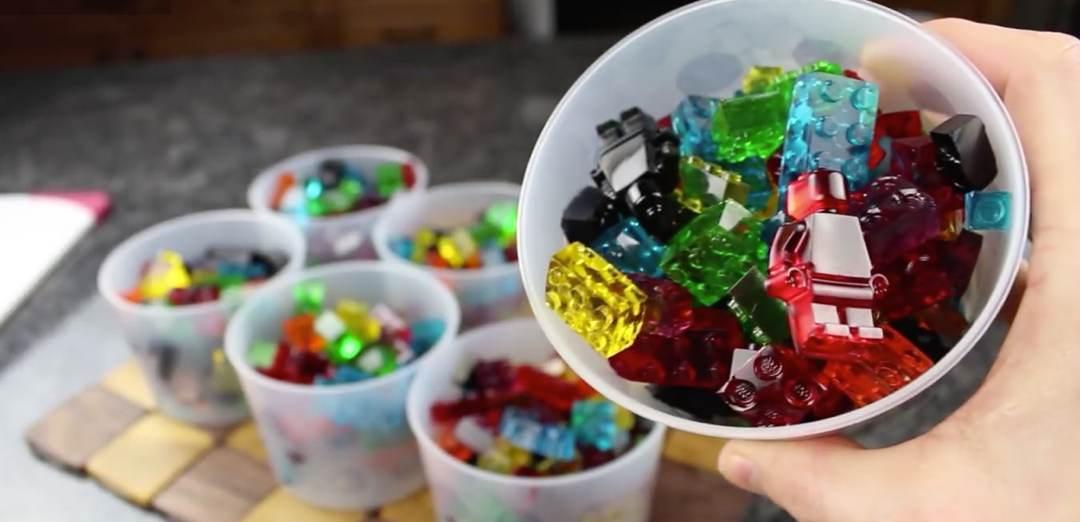 LEGO Fruchtgummi selber gemacht