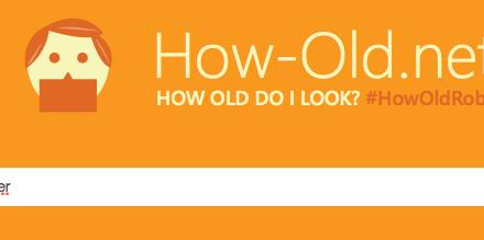 Ja, ich bin alt - How-Old.net