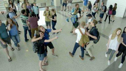 Video - Selfie Sticks sind gefährlich