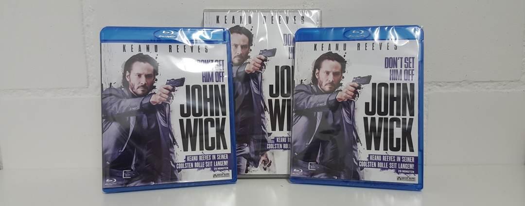 Wettbewerb DVD/Blu-Ray «John Wick»