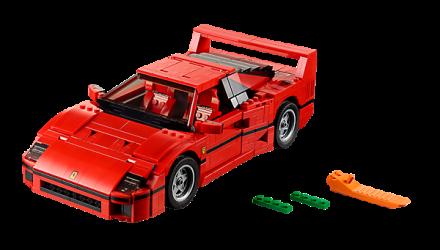 LEGO Ferrari F40 - bau dir dein eigenen Flitzer