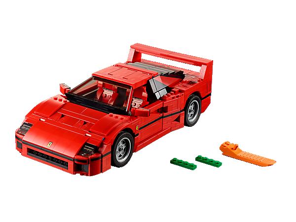 LEGO Ferrari F40 – bau dir dein eigenen Flitzer