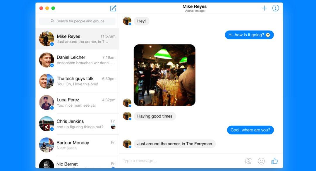 OS X – Goofy der Facebook Messenger für den Mac