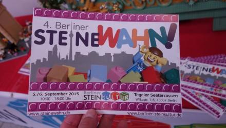 SteineWAHN 2015 vom 05. bis 06. September in Berlin