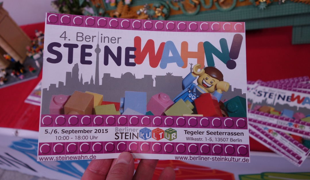 SteineWAHN 2015 vom 05. bis 06. September in Berlin