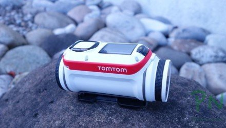 Bandit die Action Cam von TomTom ist angekommen