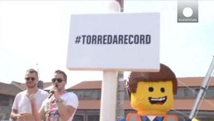 Weltrekord 35 meter hoher LEGO-Turm