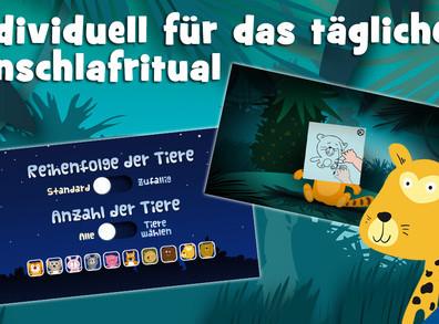Android/iOS «Träum Süß» gute Nacht App für eure kleinen