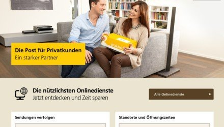 Sendungsverfolgung der Schweizer Post
