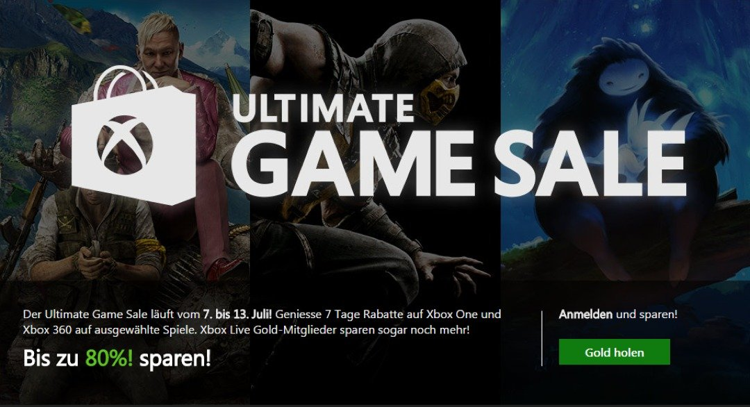 Xbox – ULTIMATE GAME SALES