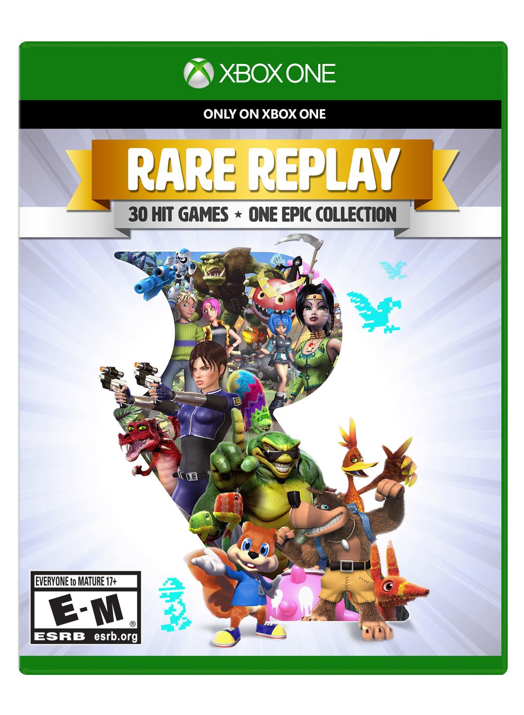 Xbox One – Rare Replay eine Game Kollektion
