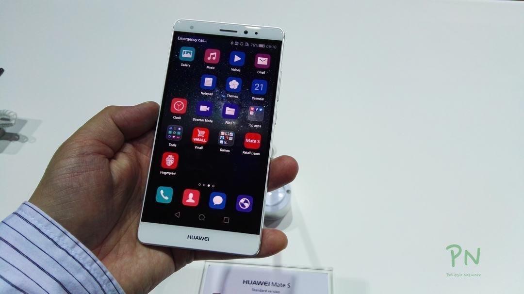 Huawei Mate S an der IFA präsentiert 5