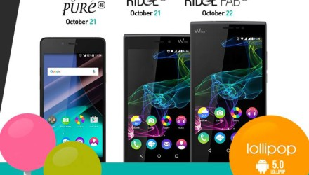 Lollipop Update fürs Wiko Highway Pure 4G