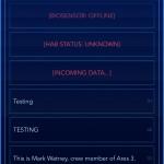 Textadventures Lifeline 1/2, Marsianer