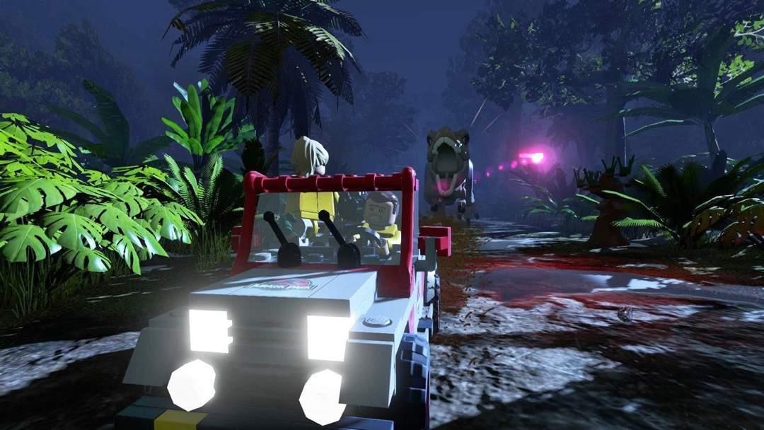 LEGO Jurassic Park auf der PS4